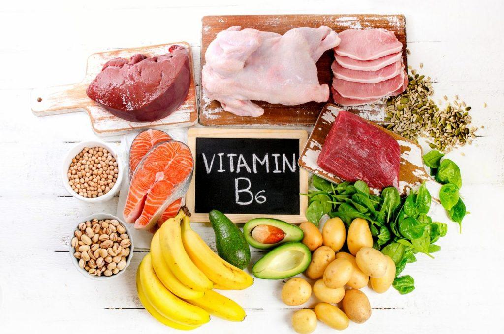Продукты содержащие в себе витамины группы В6