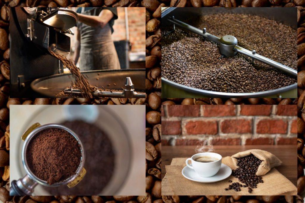 Обжарка и приготовление кофе